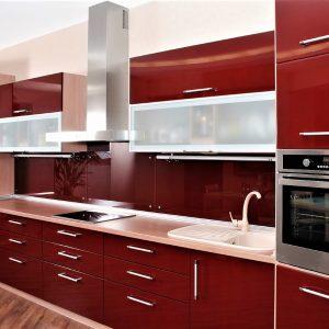 Brown Kitchen Interior - Sunrise Kitchens