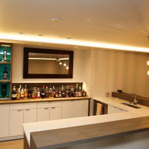 Modern Home Bar Designs - Sunrise Kitchens