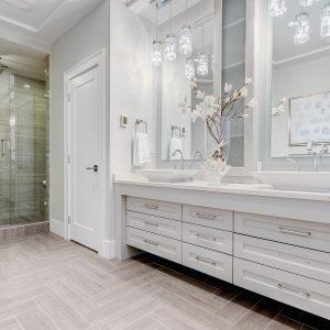 Modern Bathroom Designs at Sunrise Kitchens