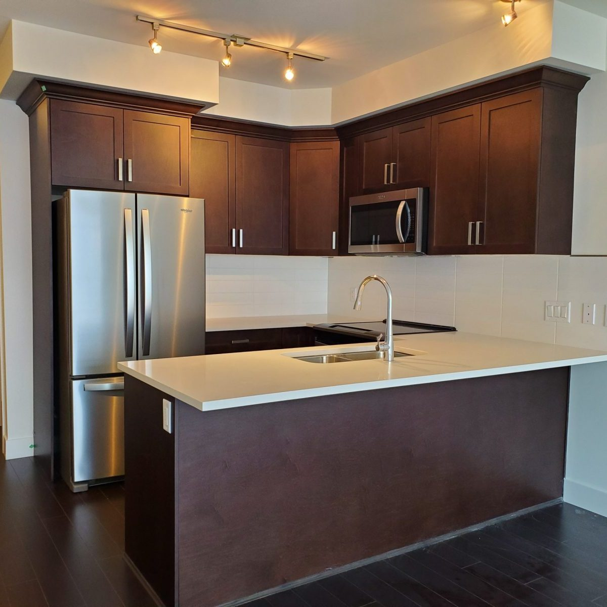 Lumiere kitchen cabinets