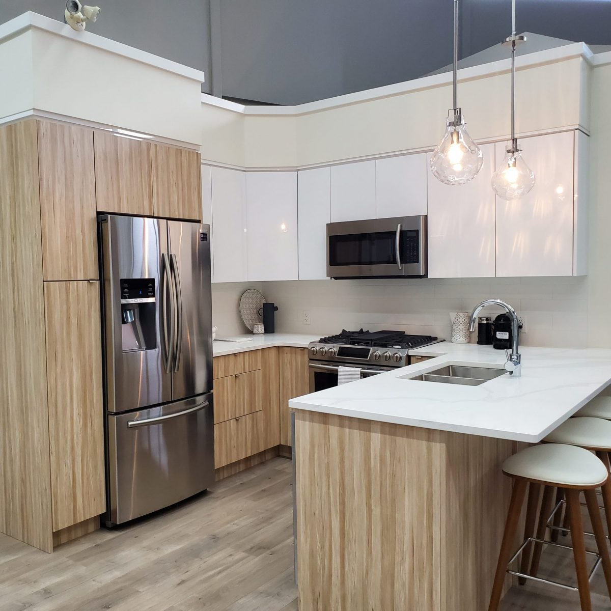 Terrazzo kitchen cabinets